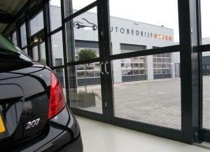 Huidige locatie van Autobedrijf Otten aan de Buitenvaart in Hoogeveen