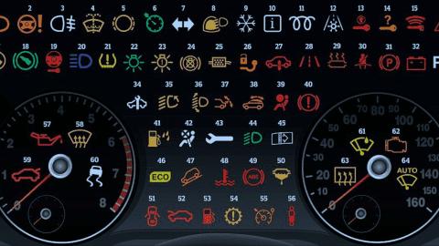 Afbeelding voor Help, er brandt een lampje op mijn dashboard!