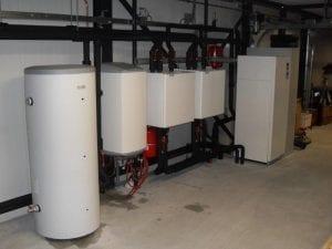 Warmtepomp installatie bij Autobedrijf Otten in Hoogeveen