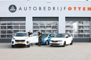 Autobedrijf Otten Buitenvaart afscheid Eppo